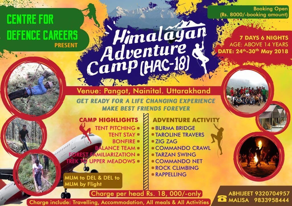 Himalayan Adventure Camp by C.D.C