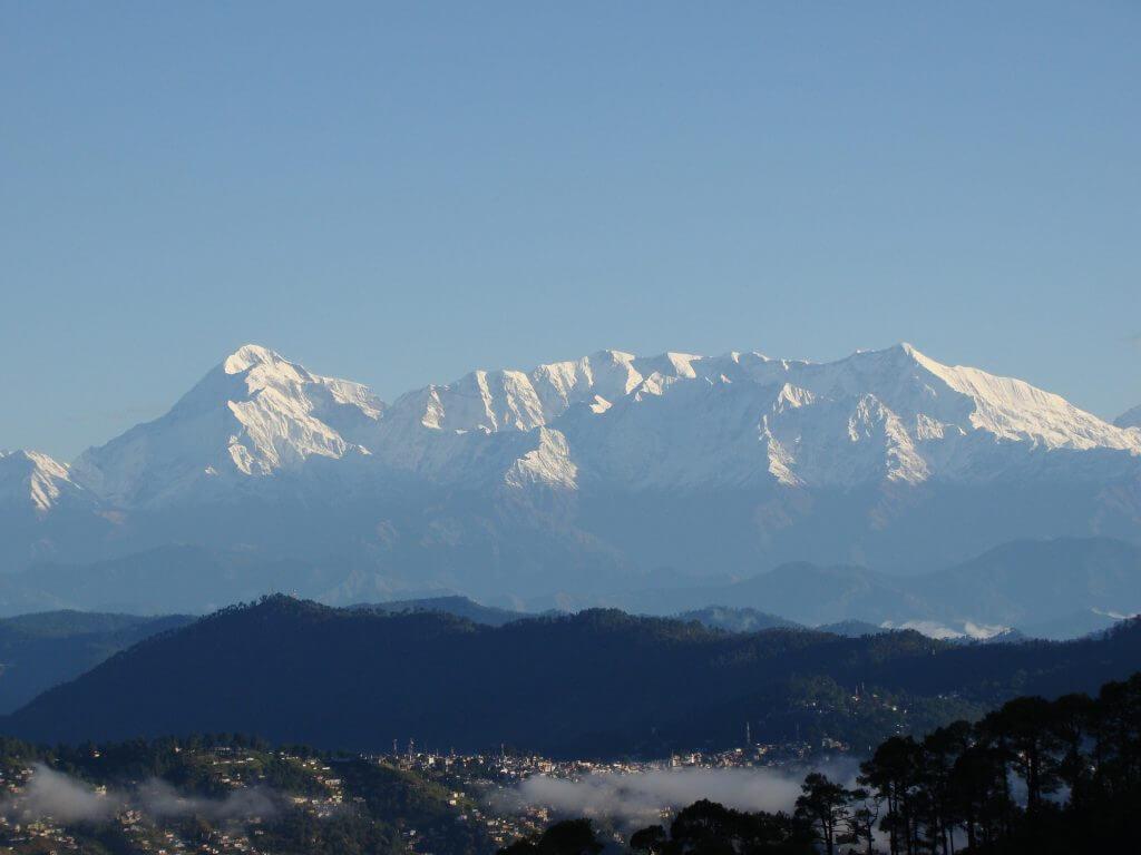 Himalayan view Nainital